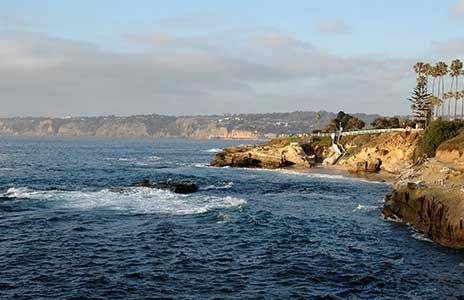 La Jolla coastal picture