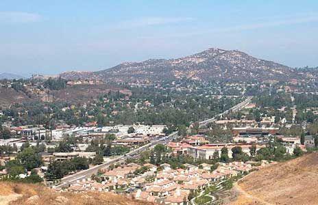 Poway hillside