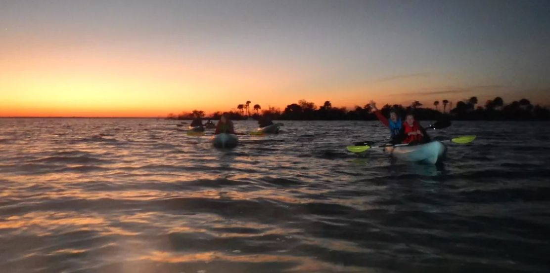 Experience Sunset Kayak Adventure