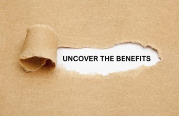 uncover the benefits banner