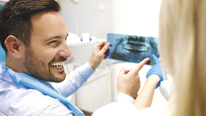 Dental Cleaning and X-Rays
