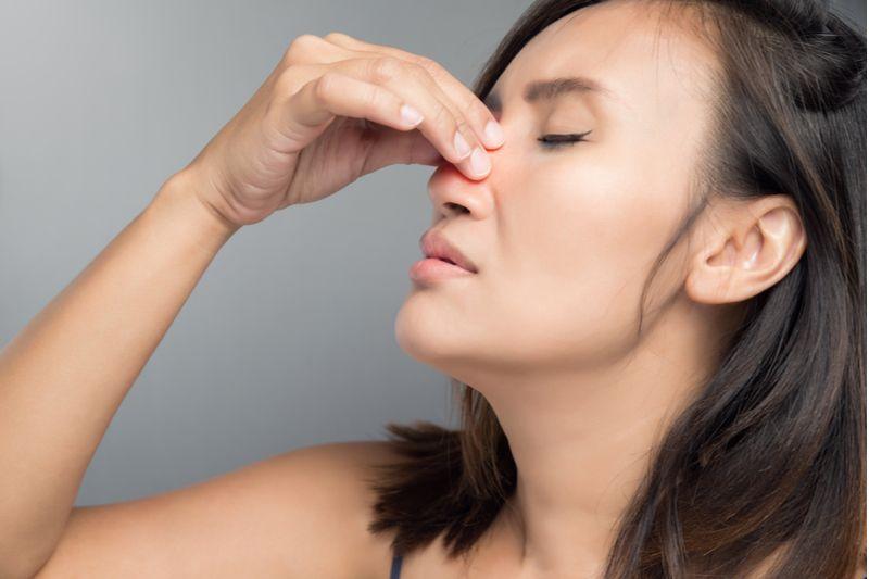 nasal pain