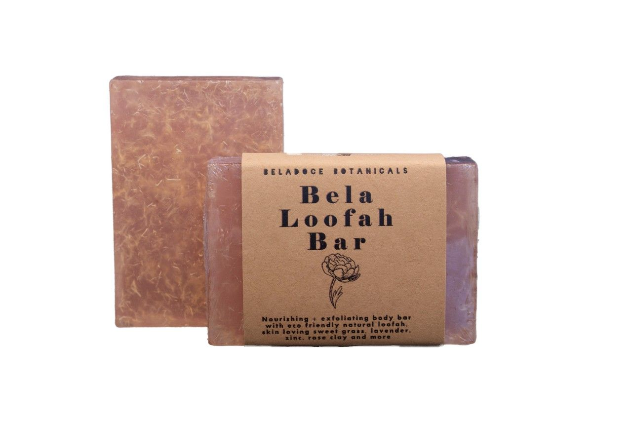 Bela Loofah Facial Soap