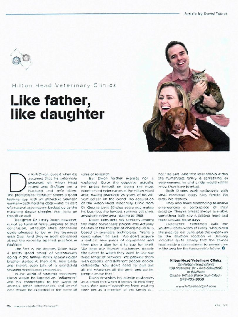 like father like daughter article