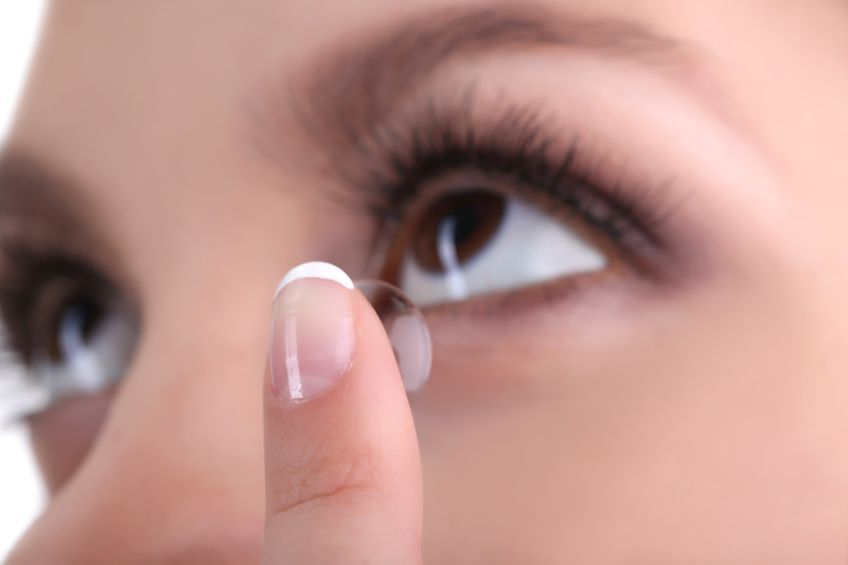 Contact Lenses and Dry Eyes