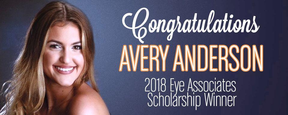 Nicholas A. Pennipede Memorial Scholarship Winner – Avery Anderson, Spring 2018