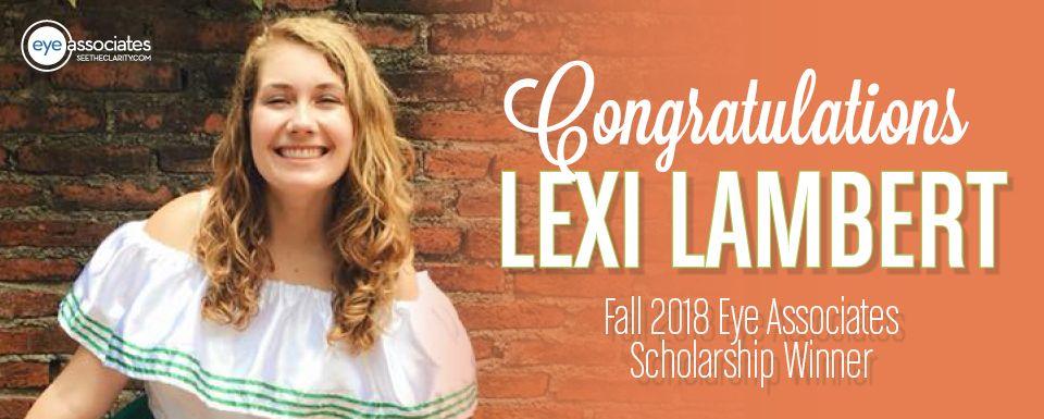 Nicholas A. Pennipede Memorial Scholarship Winner – Lexi Lambert, Fall 2018