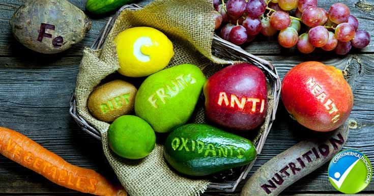 An antioxidant rich diet keeps your eyes healthy