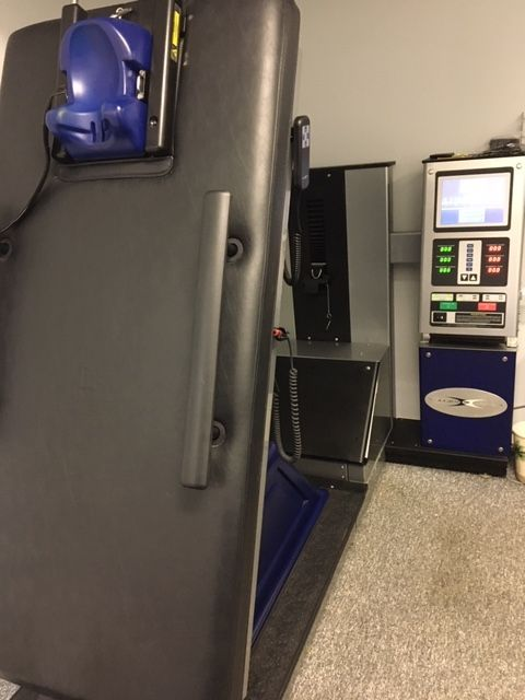 cervical decompression machine