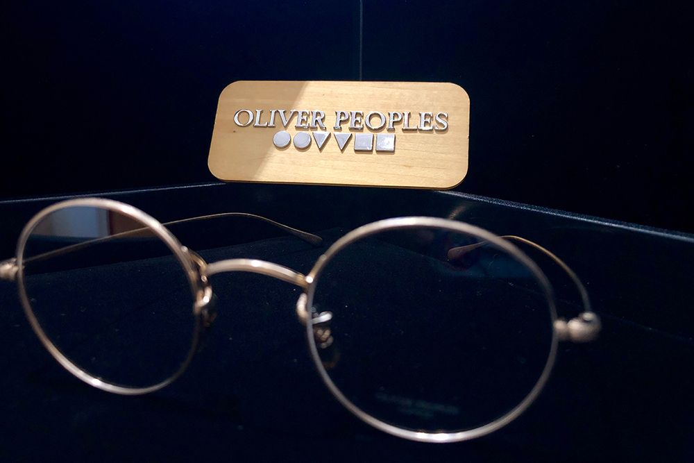 Oliver Peoples brand glasses