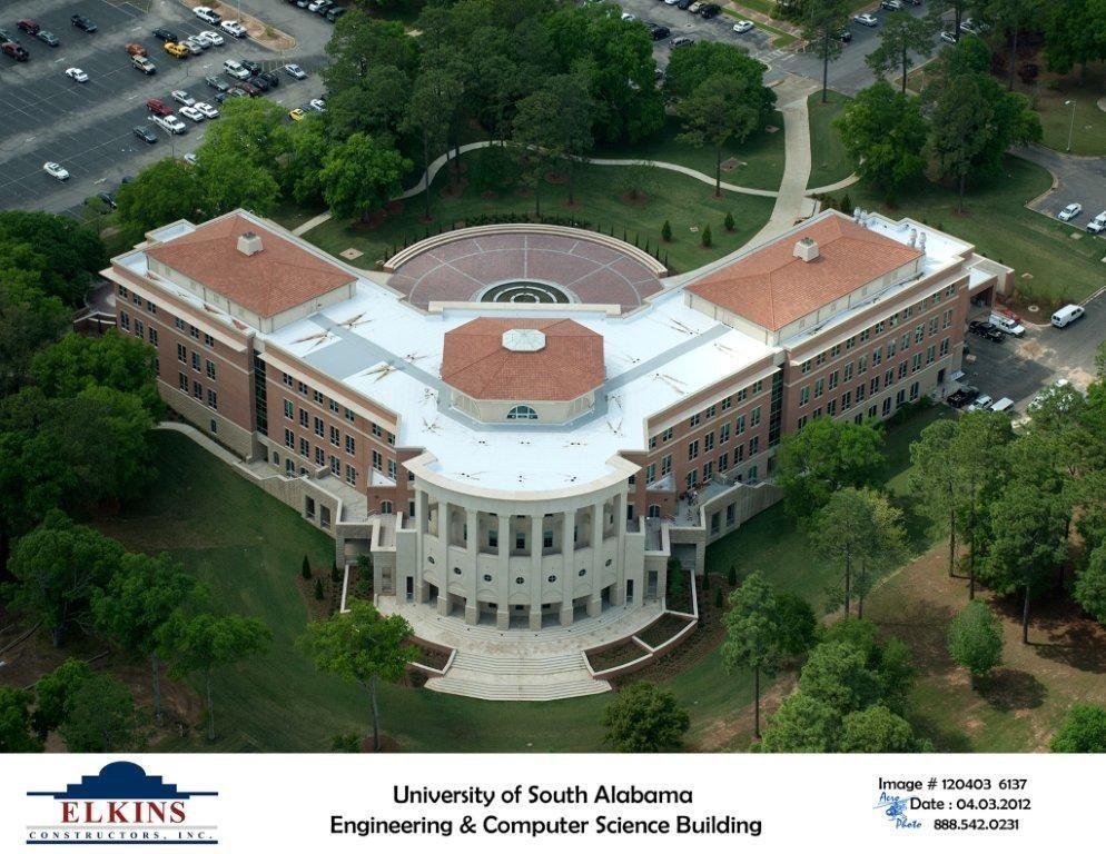 University Of Southern Alabama >> Shelby Hall University Of South Alabama