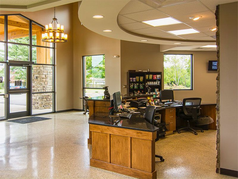 viewmont animal hospital front desk