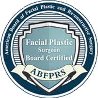 facial plastic surgeon certified